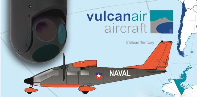 TASE 500 para Aviación Naval de Chile