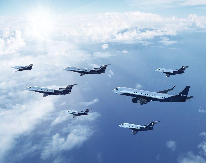 Embraer Executive Jets y Aeroservicio firman acuerdo para venta de aeronaves en Sudamérica