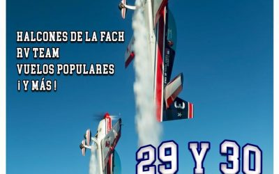 Aeroservicio será parte del Festival Aéreo Internacional de Valparaíso